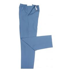 Pantalon aspect lin, Velcro
