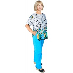 Pantalon femme 100% coton...
