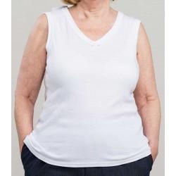 Damen-Unterhemd mit...