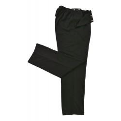 Pantalon tricot élastique...
